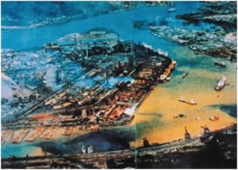 "Kitakyushu's Dokai Bay, ""Sea of Death"" (1960s) (Kitakyushu home page)"