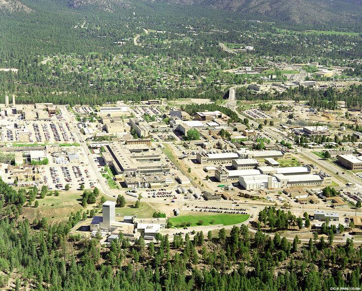 Los Alamos aerial view