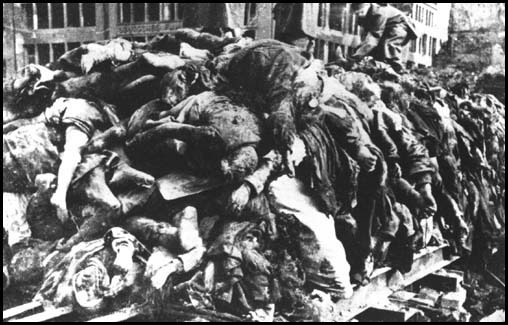 Dresden bodies found beneath wreckage