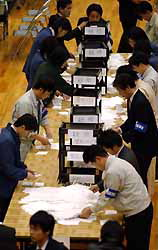 Iwakuni voters