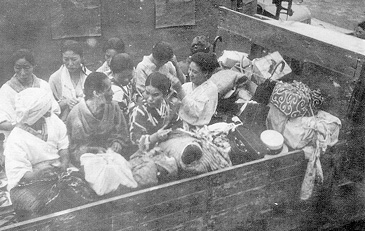 Truckload of comfort women