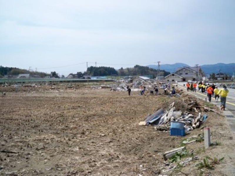 Rikuzen Takata in early May 2011 (photo by Anna Morris)