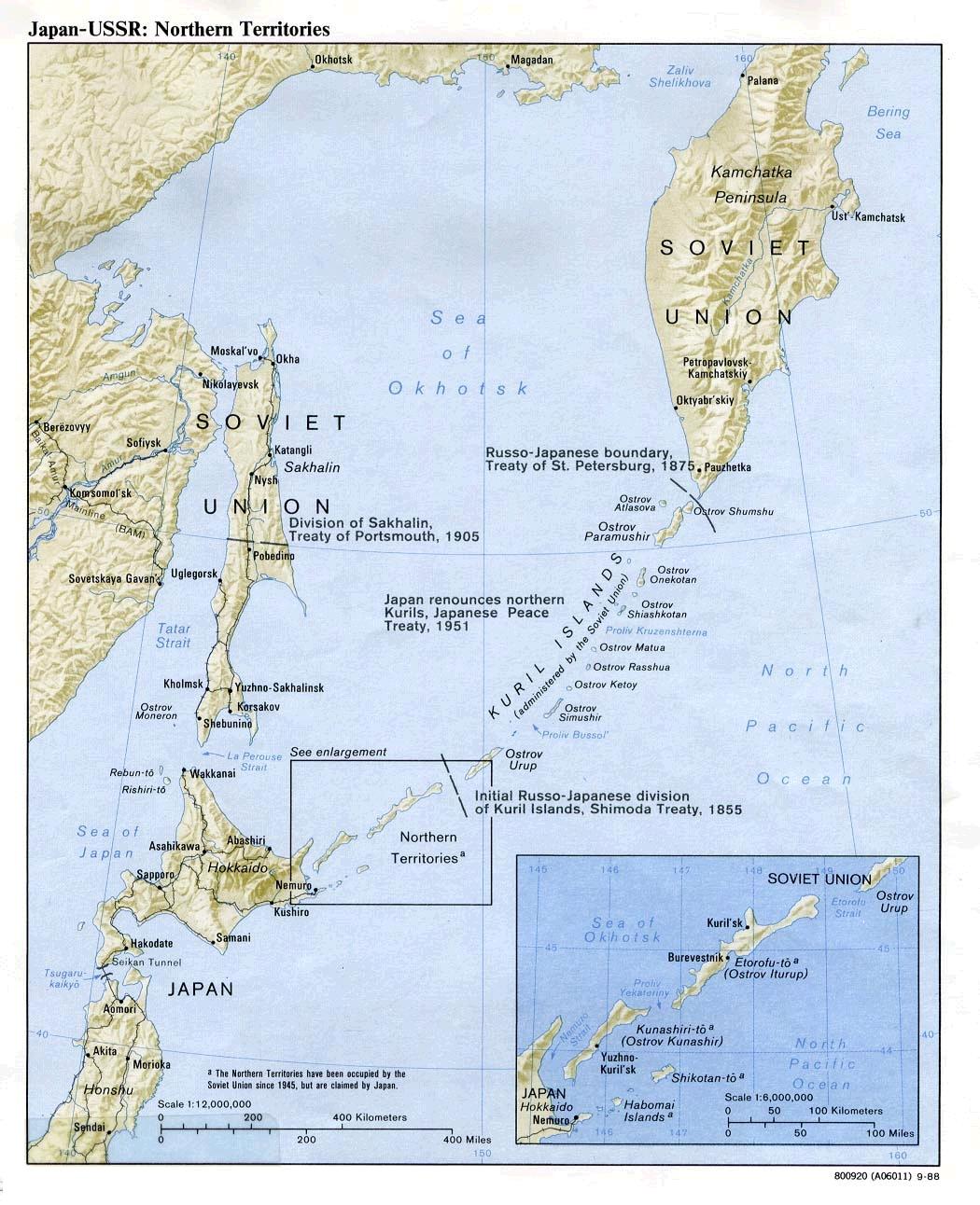 Рядом с нами были американские базы + выход в тихий океан для нашего