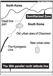 Korea+38th+parallel+map