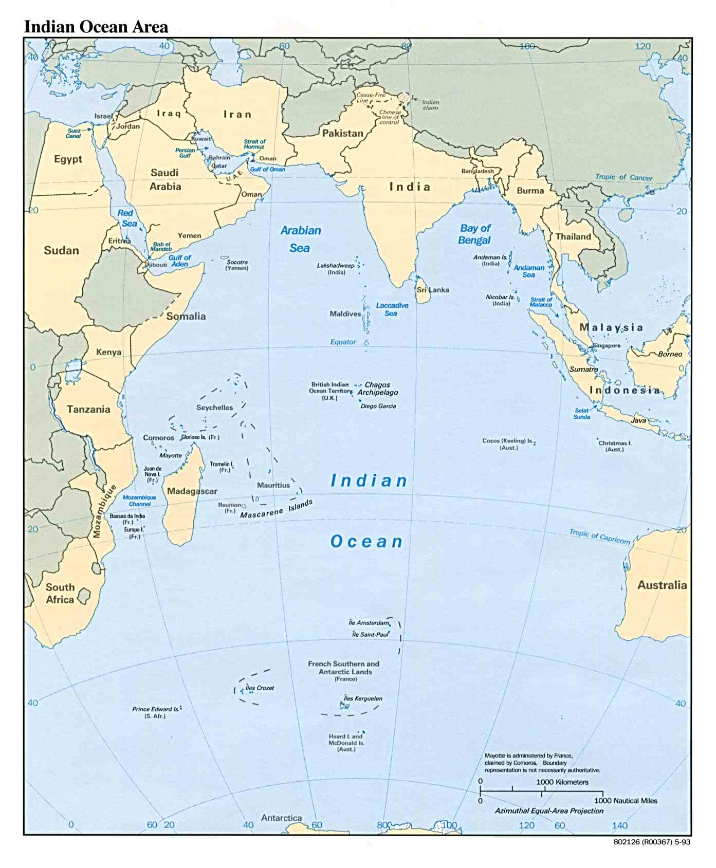 Depth+of+indian+ocean+map