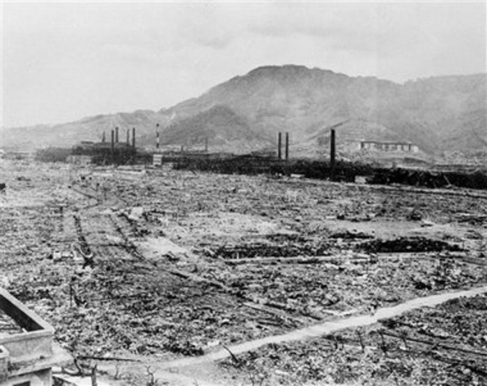 the consequences of the atomic bombing of hiroshima The aftermath of the atom bomb dropped on hiroshima, japan, by the americans  at the end of world war ii the occupants of the burned-out.