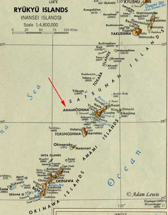 Ryukyu kingdom map