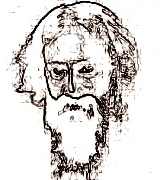 Sketch of Tagore  Rabindranath Tagore Sketch Picture