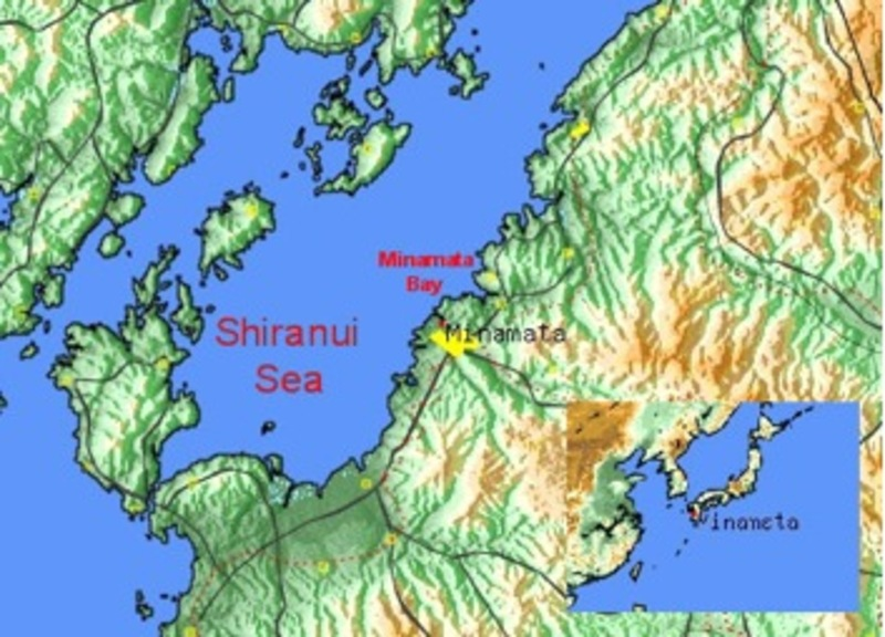 Minimata, and the Minimata Bay within the Shiranui Sea
