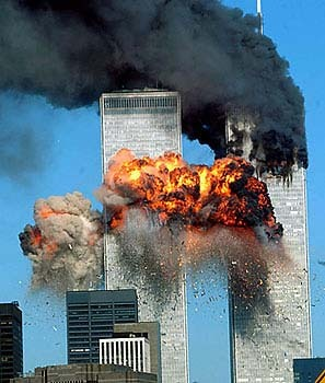 the destruction of the World Trade Center Towers on 9/11